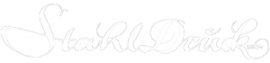 Stahldruck Logo